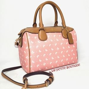 Coach Butterfly Mini Bennett Satchel